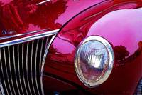 A Collectible Red Vintage Car
