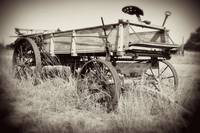 Old Farm Equipment #2: Texas Hill Country
