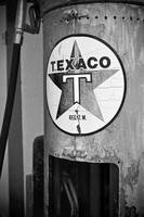 Old Gas Pump 3: Black & White