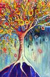 Fiesta Tree by Jennifer Lommers