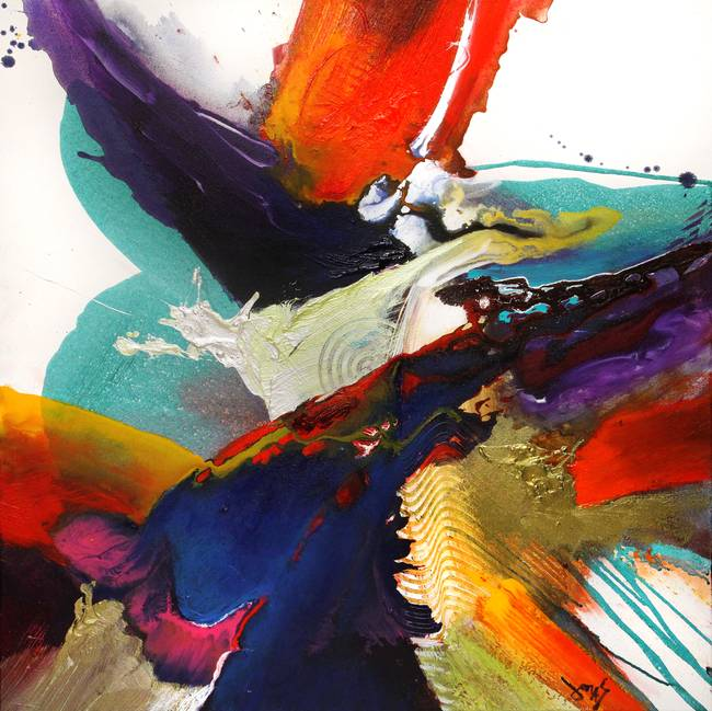 Jonas Gerard - Abstract Painting - YouTube