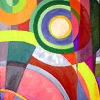 Color Circles by Karen Adams