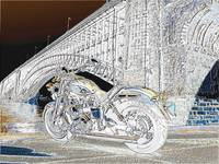 Bike and bridge chrome
