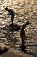 Collecting Water from the Ganges