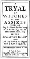 Witch Trials Poster