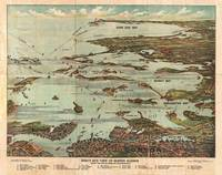 Vintage Map of Boston Harbor
