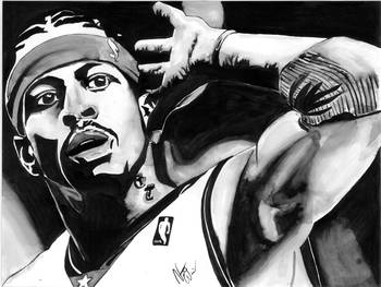 db51b997d415e Allen Iverson by Nate Williams