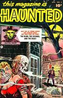 Vintage Horror Comic Book