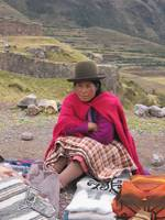 Traditional Inca Woman