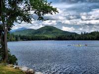 Whiteface Across Mirror Lake