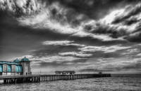 Penarth Pier HDR Colour Pop