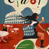 Ciao! Art Prints & Posters by Benjamin Bay