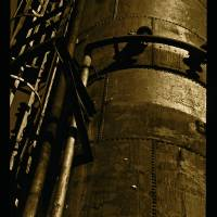 Original Photography Gas Works Park #2 - Sepia Art Prints & Posters by Jaclyn Miller