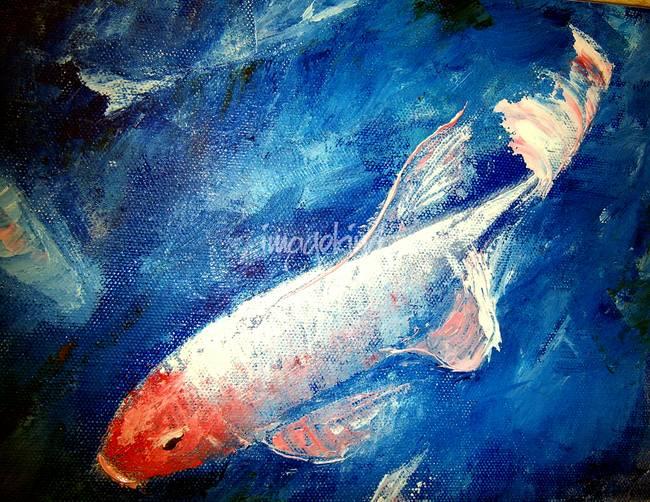 Koi Fish Palette