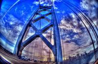 Fish Eye Bay Bridge