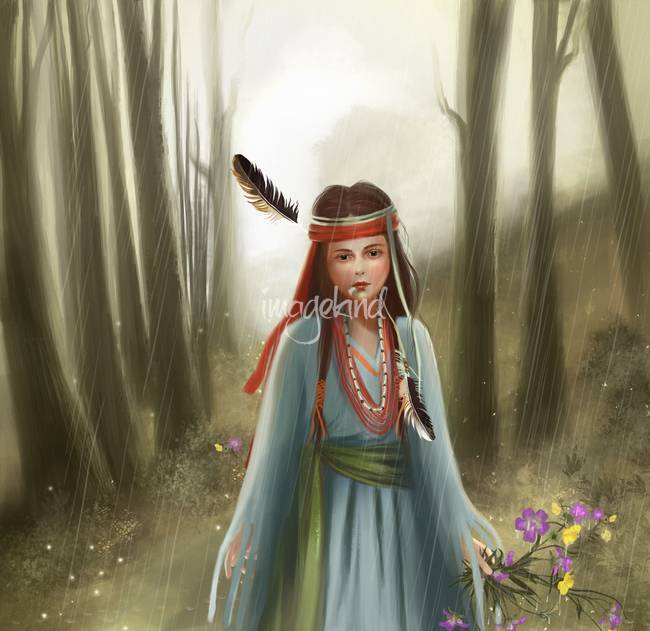 Little Indian Princess By H B