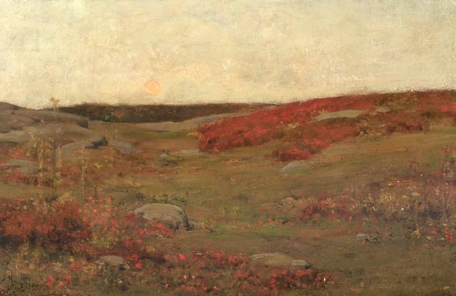Sunrise, Autumn by Childe Hassam