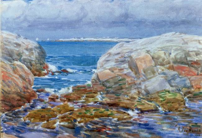 Duck Island, Isles of Shoals by Childe Hassam