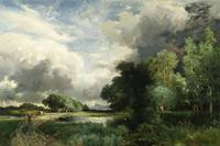 Approaching Storm Clouds by Thomas Moran