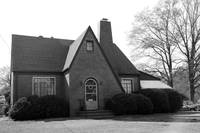 Sears House 4 bw