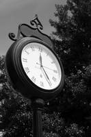 Petersburg Old Town Clock bw