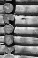 Log Cabin Elements bw
