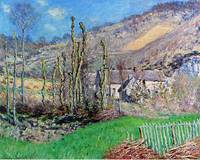 Winter at the Val de Falaise by Claude Monet