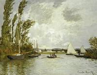 The Little Branch of the Seine at Argenteuil by C.