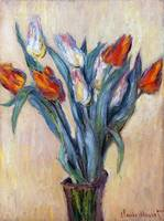 Tulips by Claude Monet