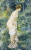 Standing Bather by Pierre Auguste Renoire
