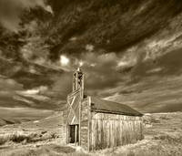 Bodie Fire House Sepia