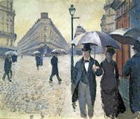 Sketch for 'Paris, a Rainy Day' byGustave Caillebo