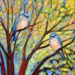 """""""Two Bluebirds"""" by JENLO"""