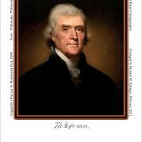 President Jefferson 1800 Art Prints & Posters by Richard Eslinger