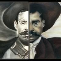"""""Panch Villa y Emiliano Zapata"" by ovartisticdrive"