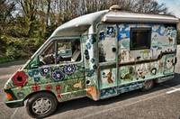 Colourful Camper Van
