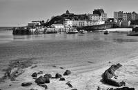 Tenby Harbour from North Beach