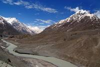 The Chandra River in the Lahaul Valley