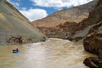Rafting on the Zanskar River