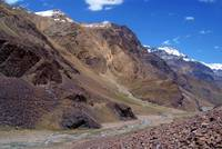 Spiti River in the Spiti Valley