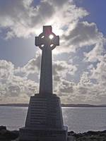 Memorial Cross (Iona, Scotland), retouched