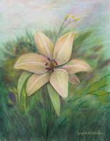 Oriental Lily by Giorgetta Bell McRee
