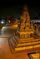 Durbar Square at Night Bhaktapur