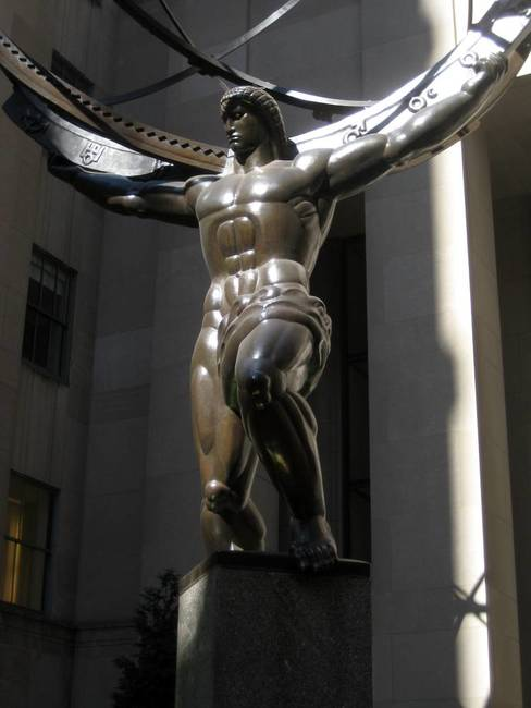 Atlas at Rock Center