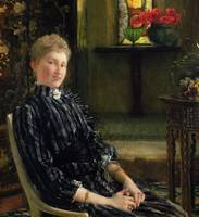 Portrait of Mrs Ralph Sneyd by Sir Lawrence Alma-T