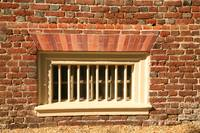 Barred Window at Shirley Plantation