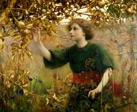 A Golden Dream by Thomas Cooper Gotch