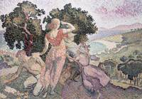 The Excursionists by Henri-Edmond Cross