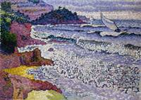 The Choppy Sea by Henri-Edmond Cross