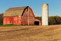 Red Barn and Silo